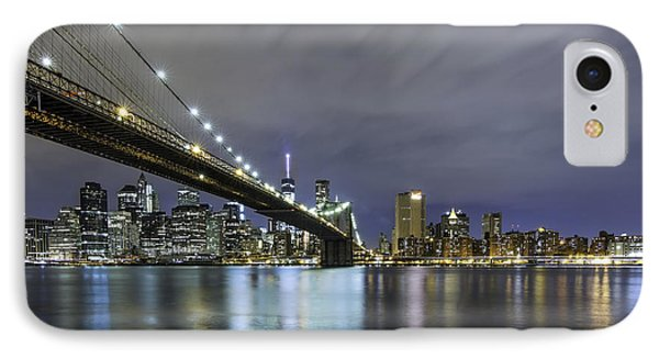 IPhone Case featuring the photograph Brooklyn Nights by Anthony Fields