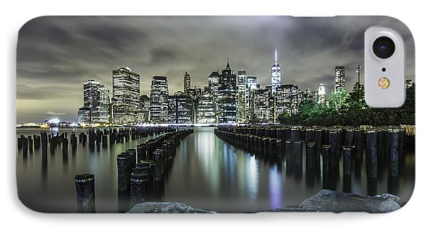 IPhone Case featuring the photograph Brooklyn On The Rocks  by Anthony Fields
