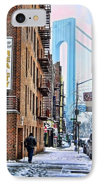 Brooklyn Walk IPhone Case by Terry Cork