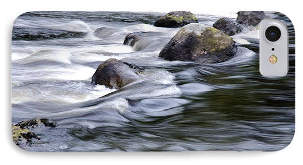 IPhone Case featuring the photograph Brora River Scotland by Sally Ross