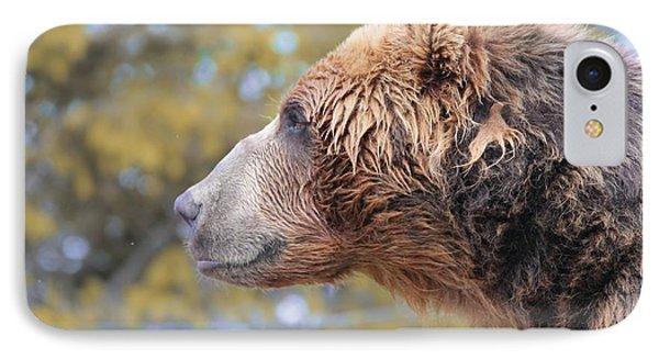 Brown Bear Smile IPhone Case