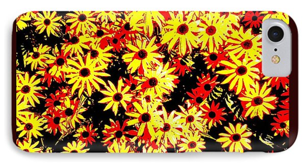 Brown Eyed Susans I IPhone Case by Peter Gumaer Ogden