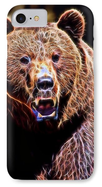 Brown Grizzly IPhone Case