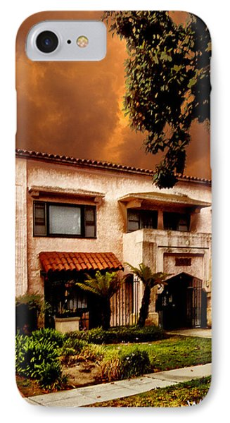 Brown House 2 Phone Case by Bob Winberry