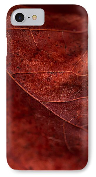IPhone Case featuring the photograph Brown Texture by Haren Images- Kriss Haren