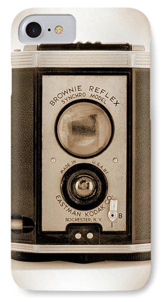Brownie Reflex Phone Case by Mike McGlothlen