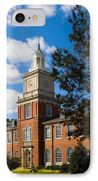 Browning Building At  A P S U IPhone Case by Ed Gleichman