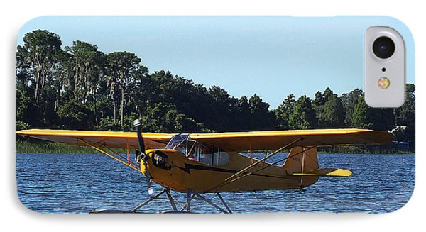 Brown's Piper Cub 005  IPhone Case by Chris Mercer