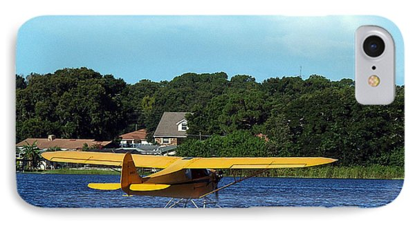 Brown's Piper Cub IPhone Case by Chris Mercer