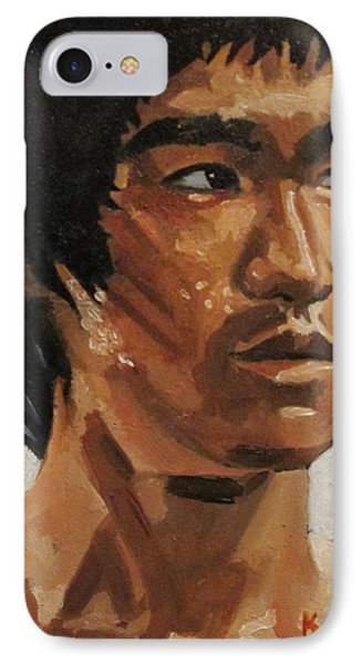 Bruce Lee Phone Case by Patrick Killian