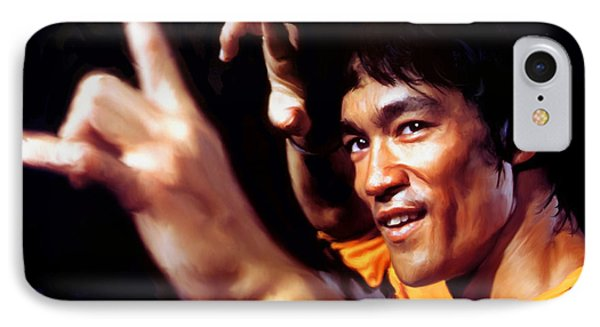 Bruce Lee IPhone Case by Paul Tagliamonte
