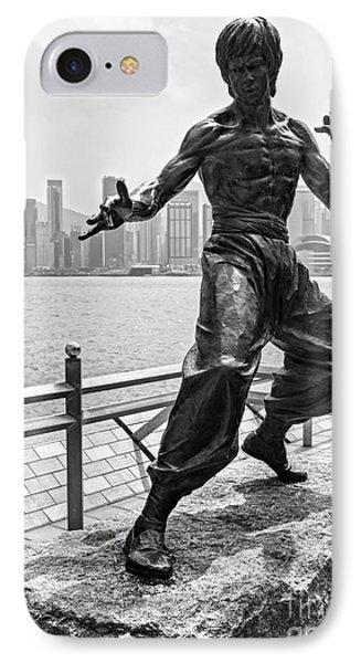 Bruce Lee Statue - Hong Kong  IPhone Case