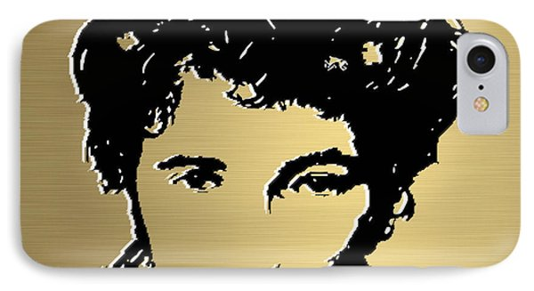 Bruce Springsteen Gold Series Phone Case by Marvin Blaine