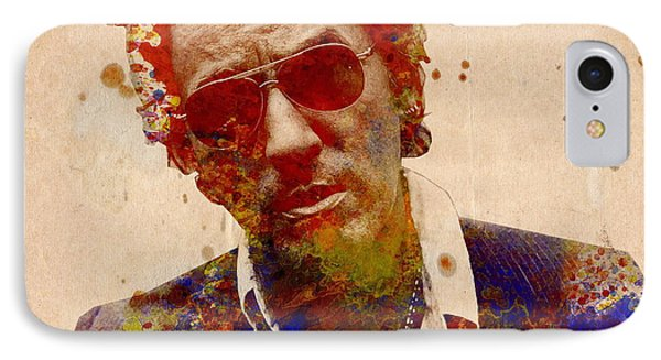 Bruce Springsteen IPhone Case by Bekim Art