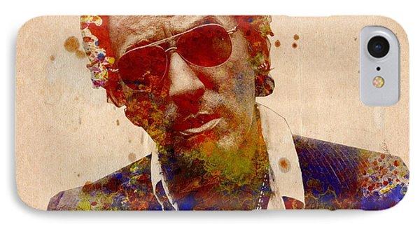 Bruce Springsteen iPhone 7 Case - Bruce Springsteen by Bekim Art