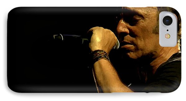 Bruce Springsteen Performing The River At Glastonbury In 2009 - 3 IPhone Case
