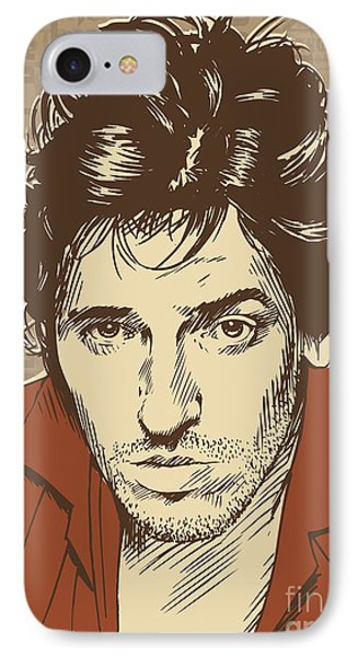 Bruce Springsteen Pop Art IPhone Case