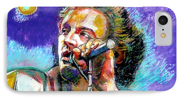 Bruce Springsteen IPhone Case by Stan Esson