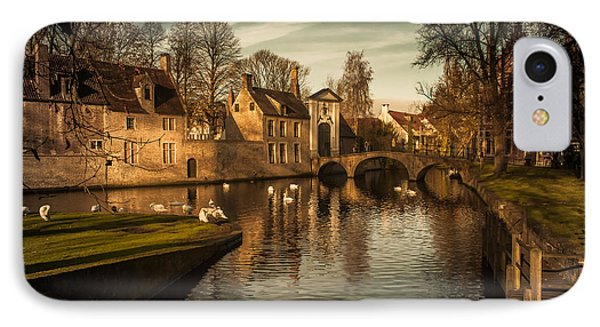 Bruges Canal IPhone Case by Chris Fletcher
