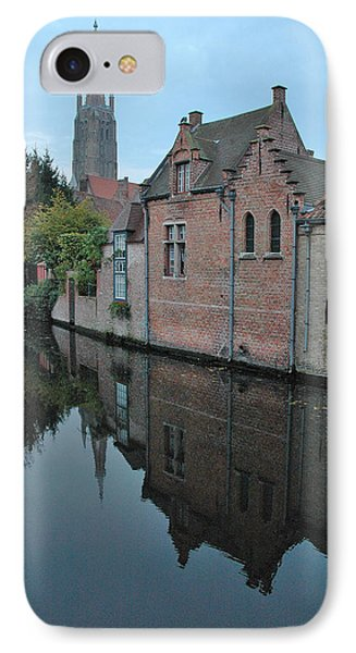 Bruges Canal IPhone Case by Steven Richman