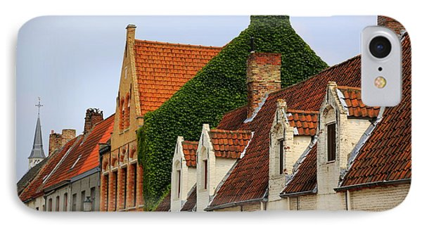 Bruges Rooftops Phone Case by Carol Groenen