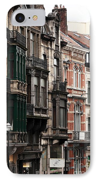 Brussels Architecture Phone Case by John Rizzuto