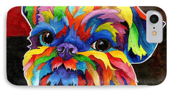 Brussels Griffon IPhone Case by Sherry Shipley