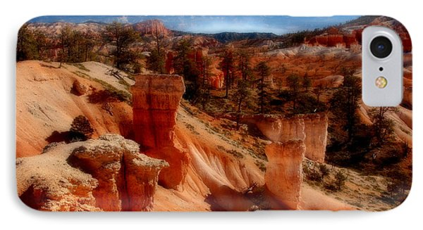Bryce Canyon Cliff Phone Case by Marti Green