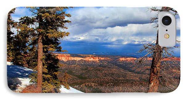 Bryce Canyon Cliff Shot 3 Phone Case by Marti Green