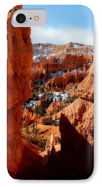 Bryce Canyon Cliff Shot Phone Case by Marti Green