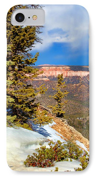 Bryce Canyon Cliff Shot 4 Phone Case by Marti Green