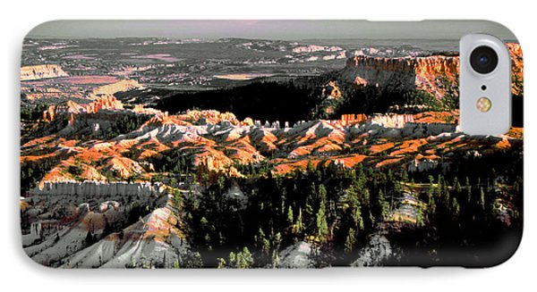 Bryce Canyon In Evening Light IPhone Case
