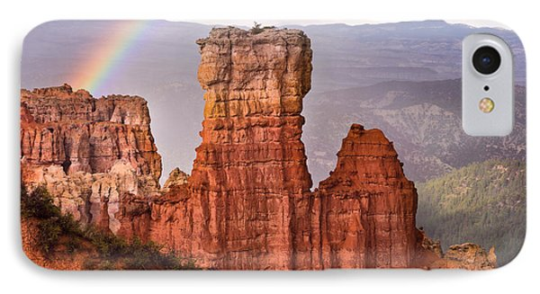 Bryce Canyon In Rain IPhone Case