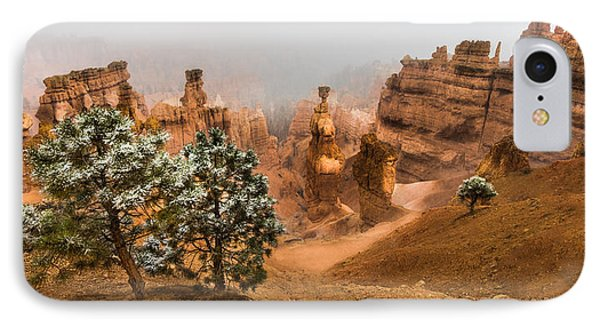 Bryce Canyon National Park IPhone Case by Larry Marshall