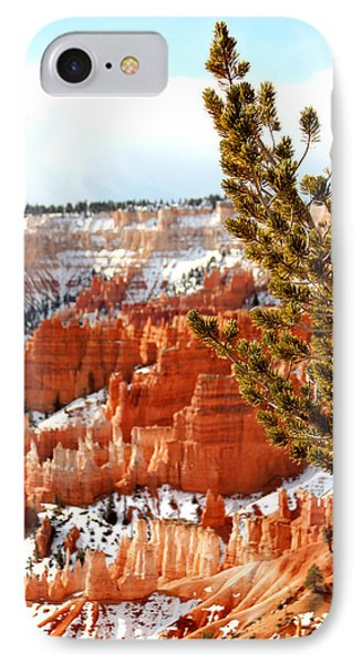 Bryce Canyon Pine Side Phone Case by Marti Green