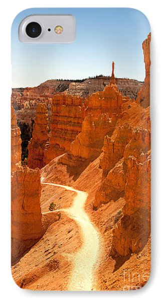 Bryce Canyon Trail IPhone Case by Jane Rix