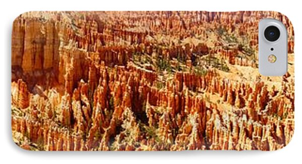 IPhone Case featuring the photograph Bryce Canyon Utah Panoramic by Kathy Churchman