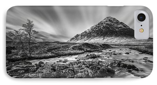 Buachaille Etive Mor 2 IPhone Case by Dave Bowman