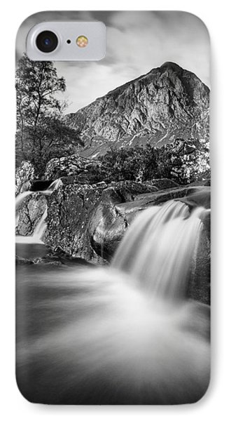 Buachaille Etive Mor 4 IPhone Case by Dave Bowman