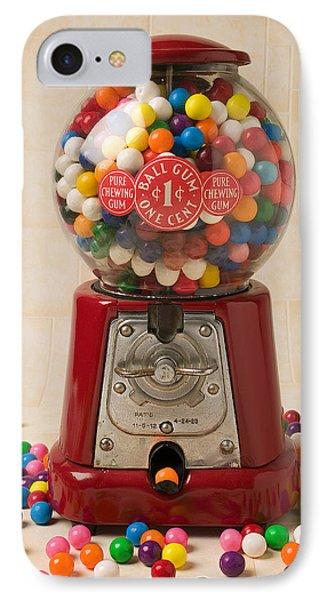Bubble Gum Machine IPhone Case by Garry Gay
