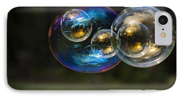 Bubble Perspective Phone Case by Darcy Michaelchuk