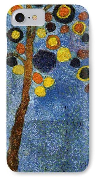 Bubble Tree - 8586v03r IPhone Case