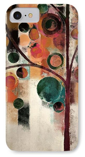 Bubble Tree - J08688 IPhone Case by Variance Collections