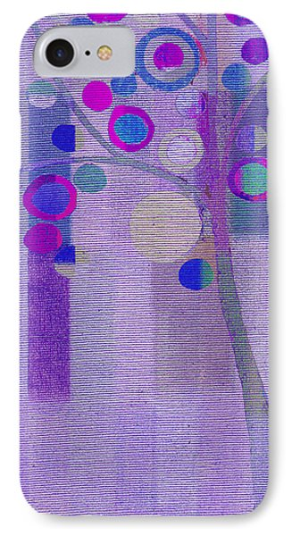 Bubble Tree - S85rc03 IPhone Case by Variance Collections