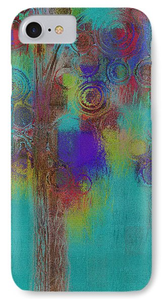 Bubble Tree - Sped09r IPhone Case by Variance Collections