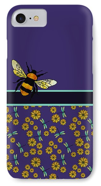 Bubblebee And Friends IPhone Case by Jenny Armitage