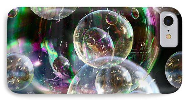 Bubbles And More Bubbles IPhone 7 Case by Nareeta Martin