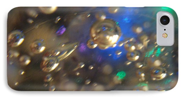 Bubbles Glass With Light IPhone Case