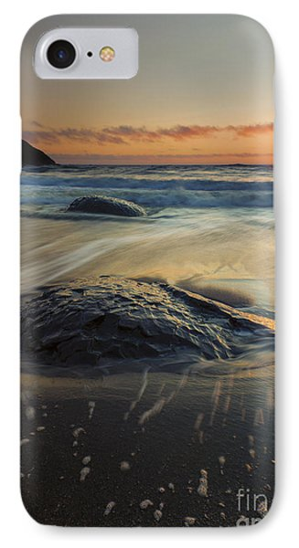 Bubbles On The Sand Phone Case by Mike  Dawson