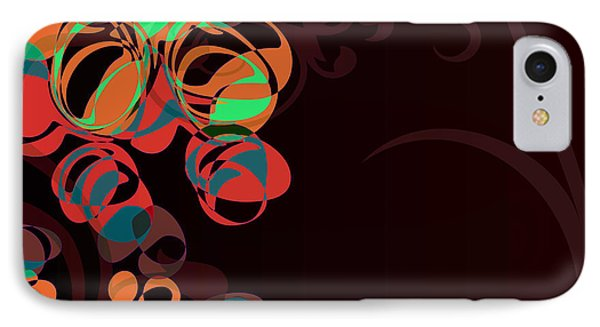 Bubbling Bubbles - 45 IPhone Case by Variance Collections